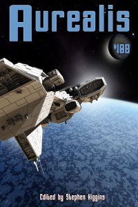 Aurealis-108-cover-Spaceship-above-ice-planet